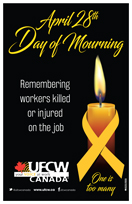 April 28, 2019 - National Day of Mourning